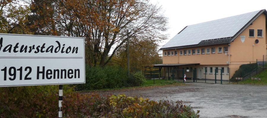 Naturstadion und Vereinsheim